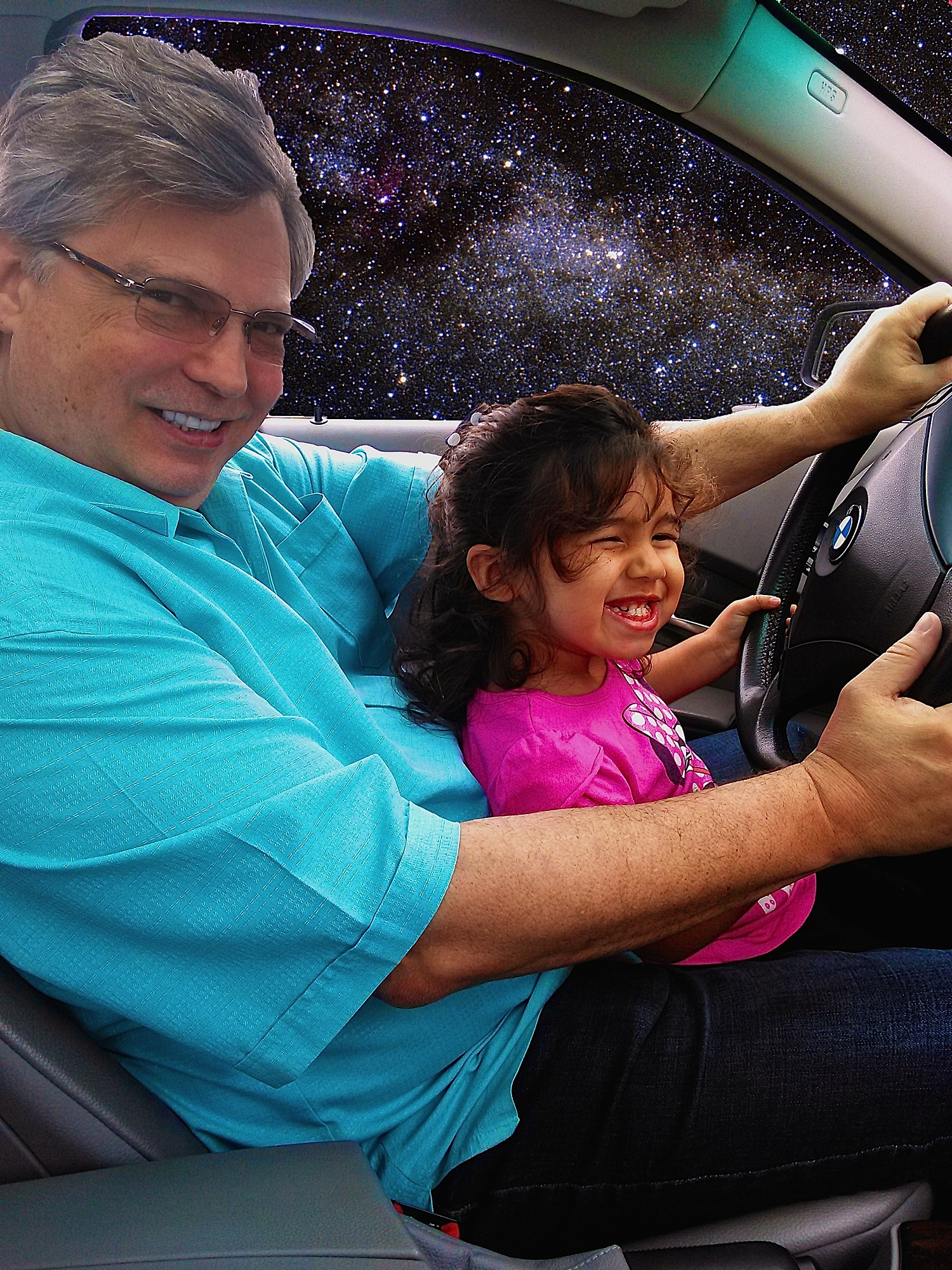 Driving Her First Starship !!!